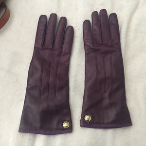 NWOT Coach Leather Gloves